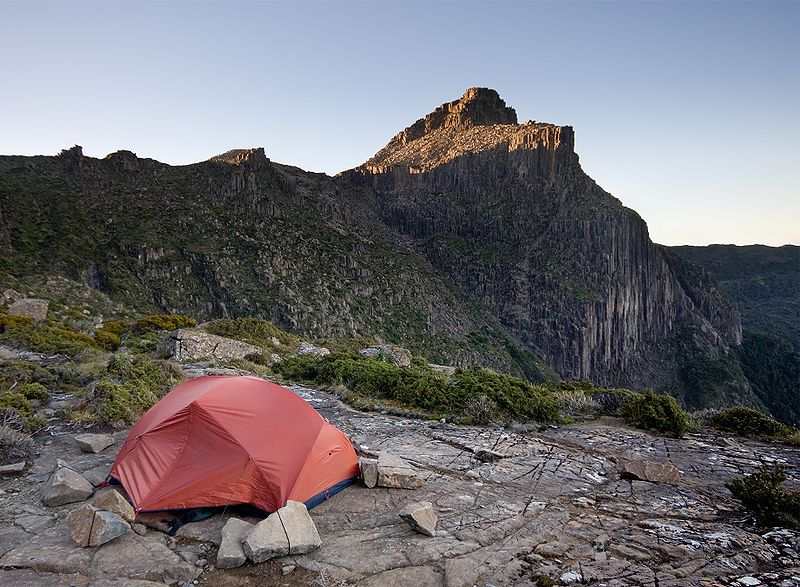 Guys Go Camping: Tips for Camping on a Slope