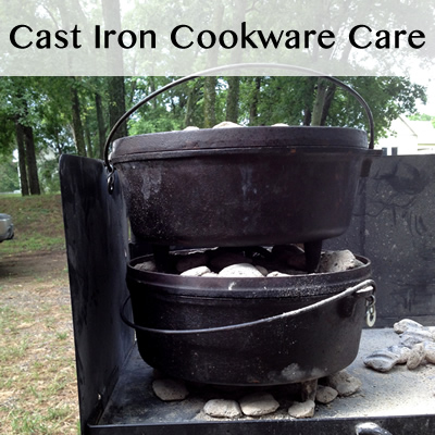 Cast Iron Cookware Care - Image Credit: Erica Mueller