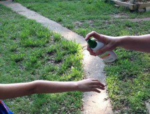 Use personal insect repellants to protect yourself against west nile.